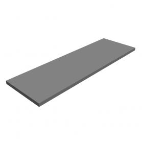 Półka regałowa - laminowana - LSS SZARA 800x250