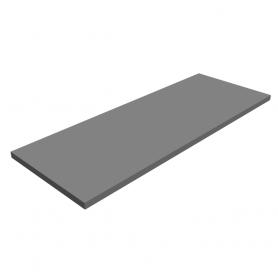 Półka regałowa - laminowana - LSS SZARA 800x300