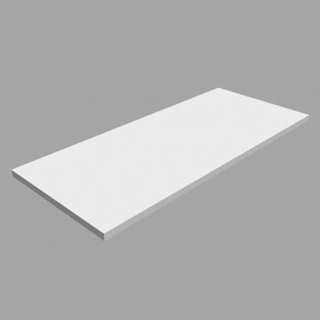 Półka regałowa - laminowana - LSS BIAŁA 800x350
