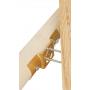 Łącznik belki drewnianej okrągłej - regulowany - LBO ZN 200x58x2,5