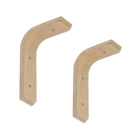 Wspornik do półek -  podpora drewniana 2x WDG