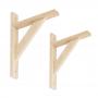 Wspornik do półek -  podpora drewniana 2x WDW BUK
