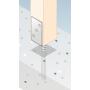 Podstawa słupa - kotwa do betonu - PSL