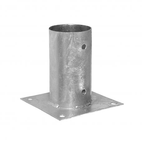 Podstawa słupa - przykręcana do betonu okrągła - PSPO