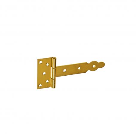 Zawias bramkowy ozdobny - ocynk - ZBO