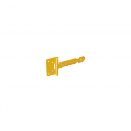Zawias bramkowy lekki przetłoczony - ocynk - ZBL