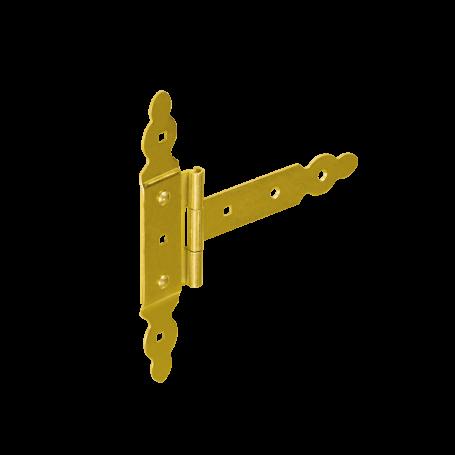 Zawias bramkowy ozdobny z nakładką - ZBNO