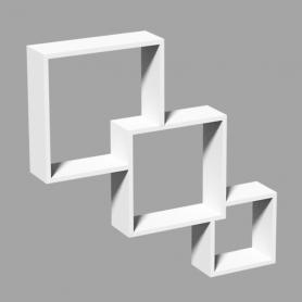 Półki modułowe wiszące ścienne - cube - FIS 320/280/200