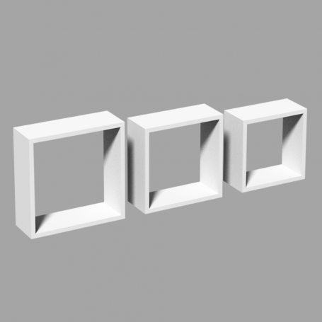 Półki modułowe wiszące ścienne - FSS 270/240/210
