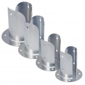 Podstawa słupa - okrągła przykręcana do betonu - PSPOD