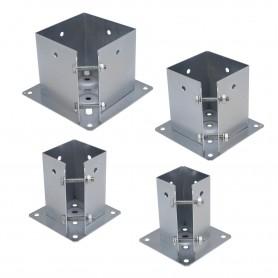 Podstawa słupa - przykręcana do betonu kwadratowa - PSPA