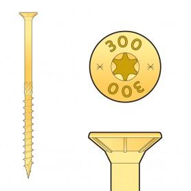 Wkręt ciesielski z łbem stożkowym 4 mm (opakowanie) - CS