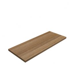 LUX Półka laminowana - prostokąt - Buk 595x195x18