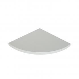 LUX Półka laminowana narożna Congo 295x295x18