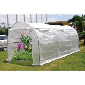 Tunel foliowy, szklarnia ogrodowa -  Iris II 200x450x190