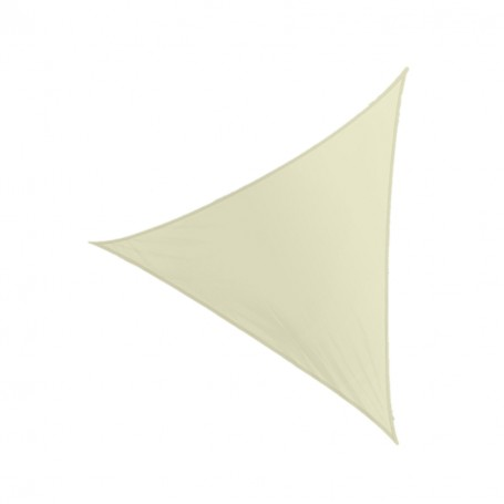 Żagiel przeciwsłoneczny trójkątny beżowy