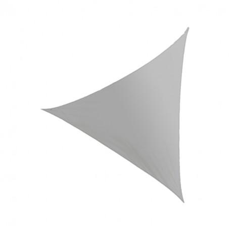 Trójkątny żagiel przeciwsłoneczny - szary