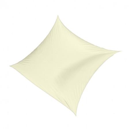 Kwadratowy żagiel przeciwsłoneczny - beżowy