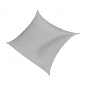 Kwadratowy żagiel przeciwsłoneczny - szary