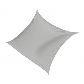Żagiel przeciwsłoneczny kwadratowy szary