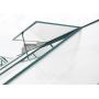 Szklarnia ogrodowa z poliwęglanu - 250x190x214 - Deluxe + GRATIS