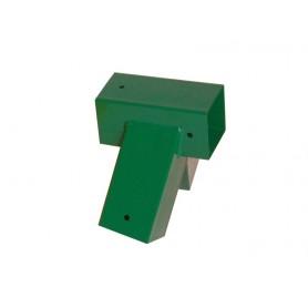 Łącznik belki kwadratowej 100° zielony - GHVK