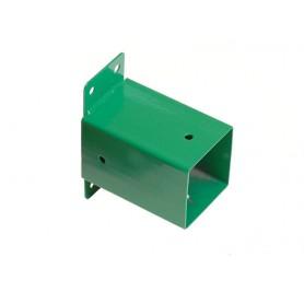 Łącznik ścienny belki kwadratowej 90x90 zielony - GHL 2