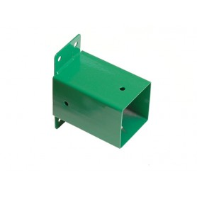 Łącznik ścienny belki kwadratowej 90x90 zielony - GHSK