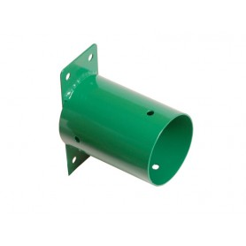 Łącznik ścienny belki okrągłej fi 100 zielony - GHSO