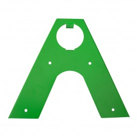 Łącznik belki okrągłej - zielony - GHL 4