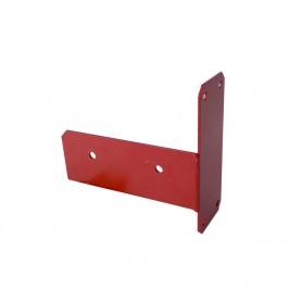 Łącznik ścienny belki - czerwony - GHL 5