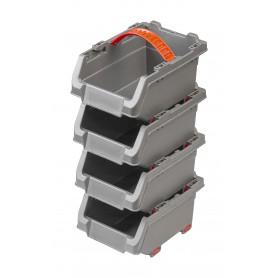 Pojemniki warsztatowe 150x110x90 zestaw 4 szt - PGP 3
