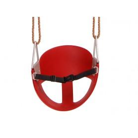 Siedzisko kubełkowe elastyczne 30x30 czerwone - GHS 3