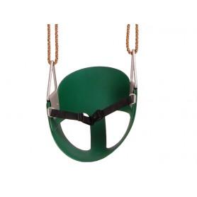 Siedzisko kubełkowe elastyczne 30x30 - zielone - GHS 3