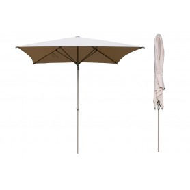 Parasol ogrodowy składany kwadratowy - 250x250 beżowy - Caldo