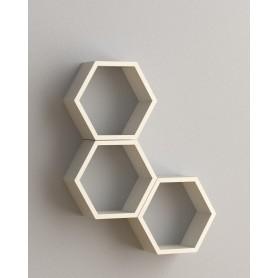 Półki modułowe - heksagon, plaster miodu - FHS 300