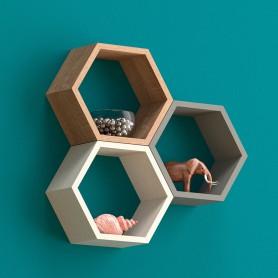 Półki modułowe, heksagon, plaster miodu - FHS 300
