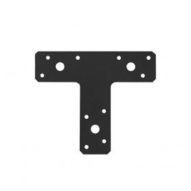 Ozdobny kątownik typu T - czarny - KT 2