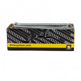 Wkręty ciesielskie pełny gwint łeb stożkowy 10mm - CPS - karton