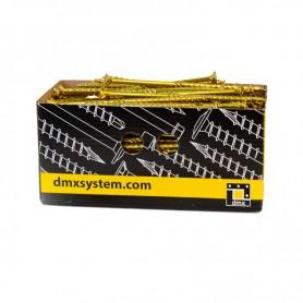 Wkręty ciesielskie z łbem stożkowym 6mm - CS - karton