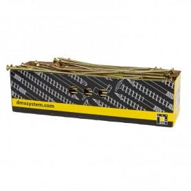 Wkręty ciesielskie z łbem stożkowym 10mm - CS - karton 50 szt
