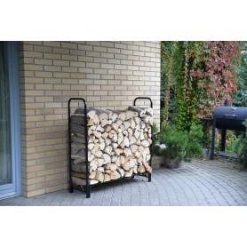 Stojak na drewno kominkowe 120x35,6x120 - Silvam I