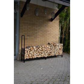 Stojak na drewno kominkowe 240x35,6x120 - Silvam II