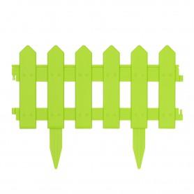 Płotek ogrodowy, obrzeże zielony zestaw 4 szt - GOP 5